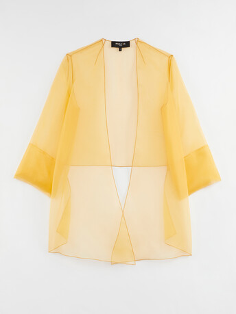 Organza jacket - Curcuma
