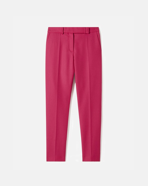 Pantalon en drill de laine