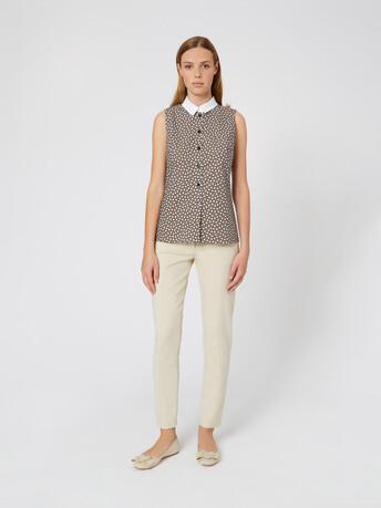 Poplin shirt - Taupe