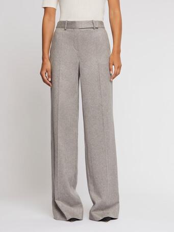 Pantalon large en flanelle - Souris