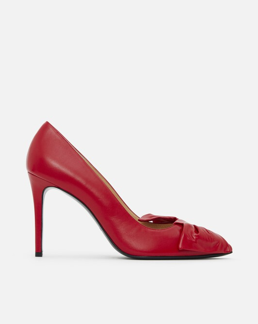 Nappa leather pumps - Rouge