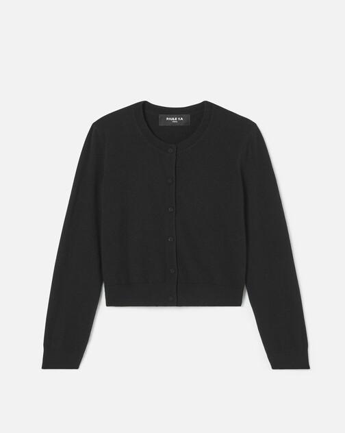 Cashmere wool cardigan