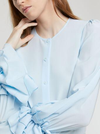Crepe de chine shirt - Atlas