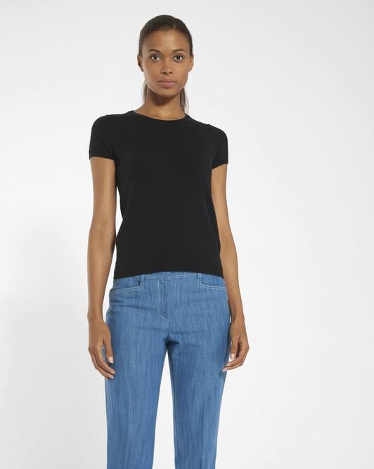 Cashmere wool sweater - black
