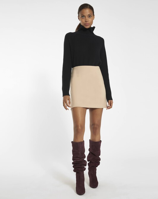 Double-sided skirt - Sand