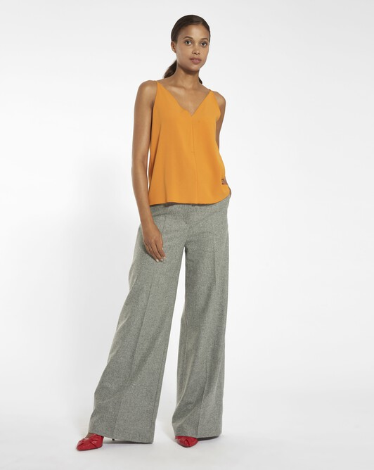 Woolcloth trousers - Souris