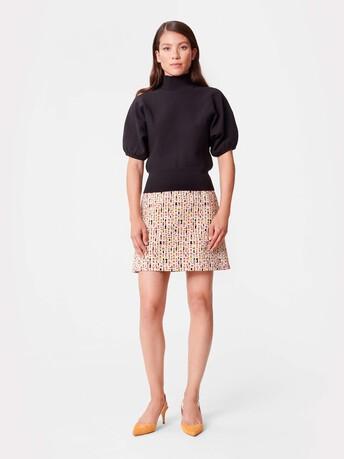 Technical-knit sweater - Noir
