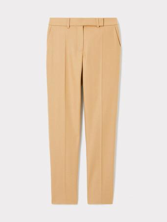 Wool pants - Camel