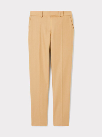 Wool pants - Camel