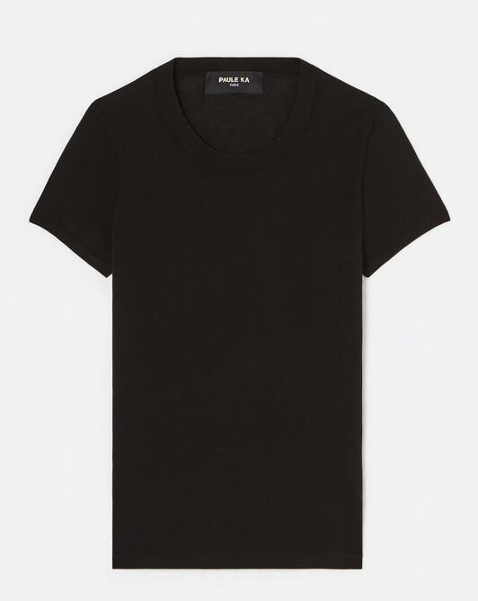 Pull en soie et Coton - Noir