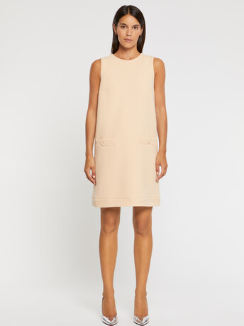 Wool-crepe dress - Gingembre