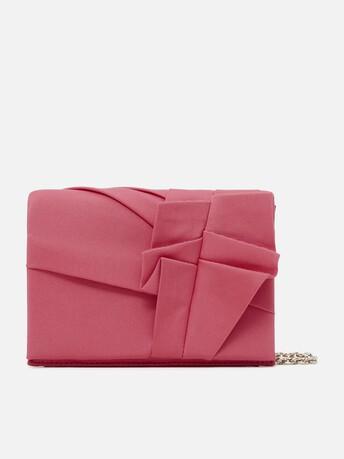 Stretch ottoman clutch - Pink