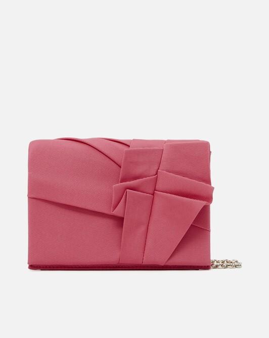 Pochette en ottoman stretch - Pink