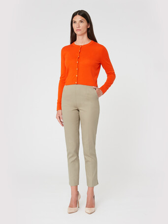 Pantalon en coton - Taupe