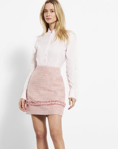 Woven tweed dress