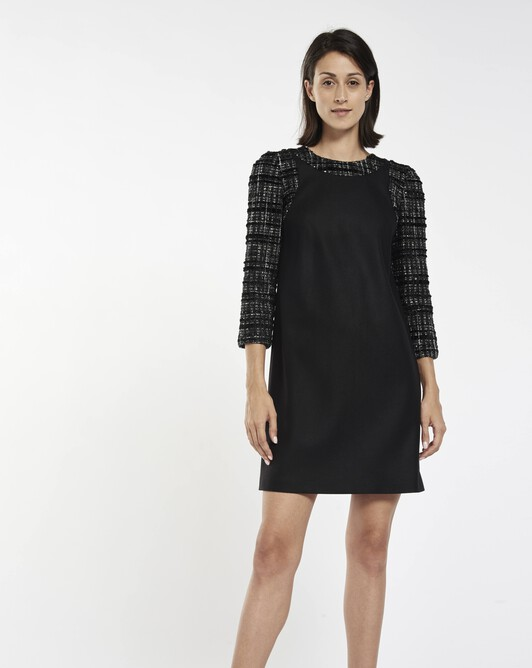 Wool dress - Noir
