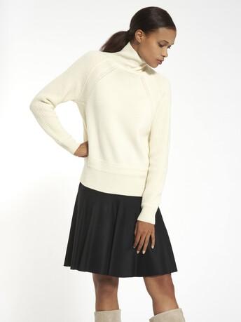 Pull en laine cachemire - Naturel