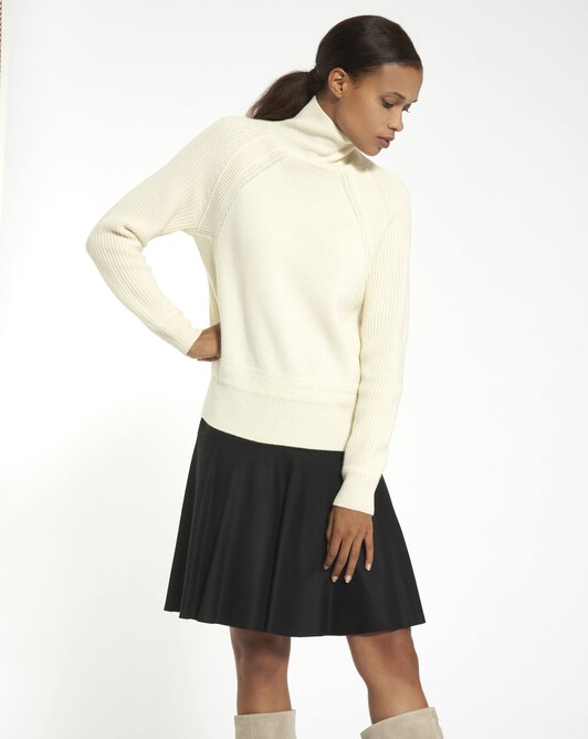 Cashmere wool sweater - Naturel