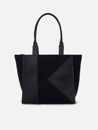 Calfskin leather bag - Noir
