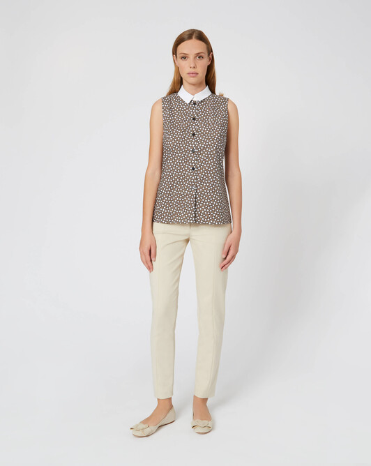 WOVEN SHIRT - Taupe