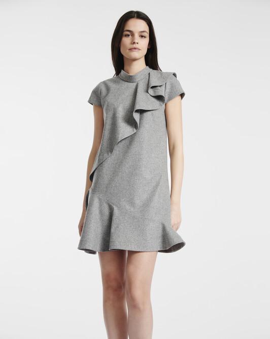 Wool dress - souris