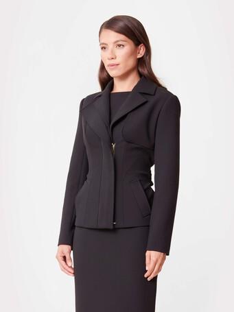 Veste en tricotine - Noir