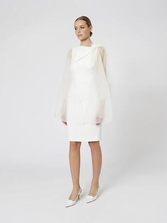 Organza jacket - Off white