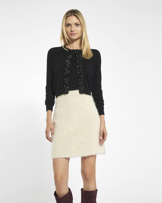 Cashmere wool cardigan - black