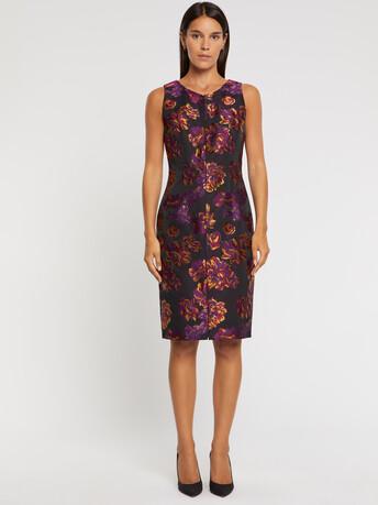 WOVEN DRESS - multicolor