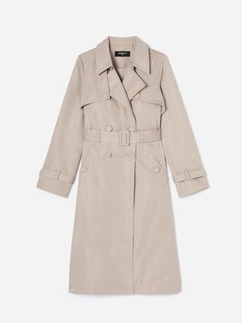 Manteau en faille - Mastic