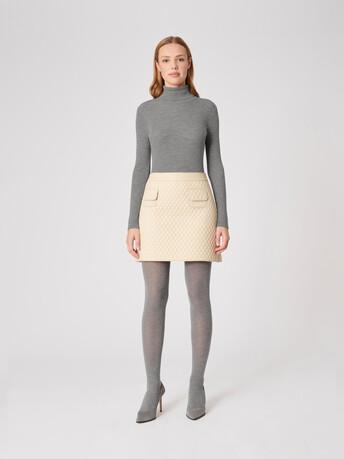 Merino wool sweater - Souris
