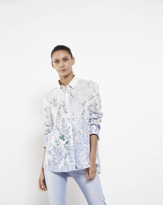 Poplin shirt - Glycine