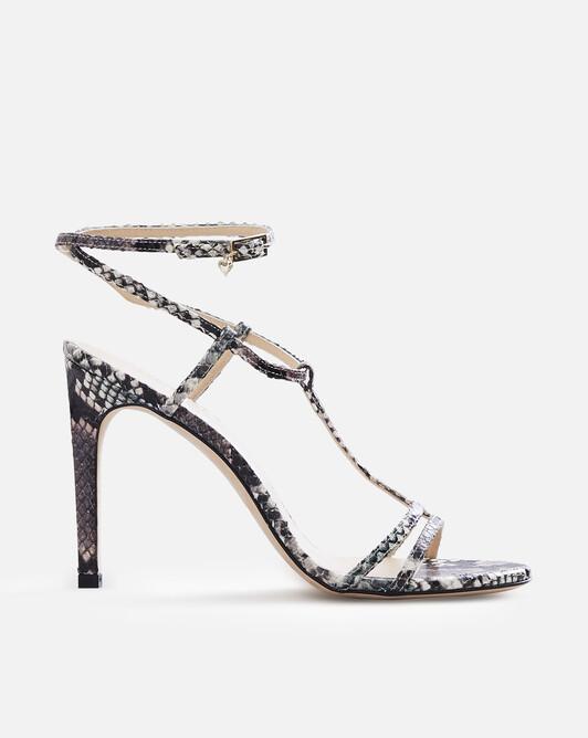 Sandales en python - Tricolore