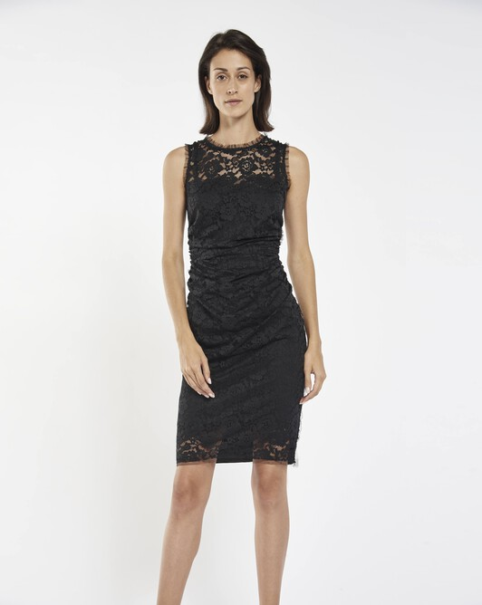 Lace dress - Noir