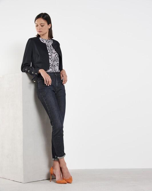 Cotton jacket - Noir