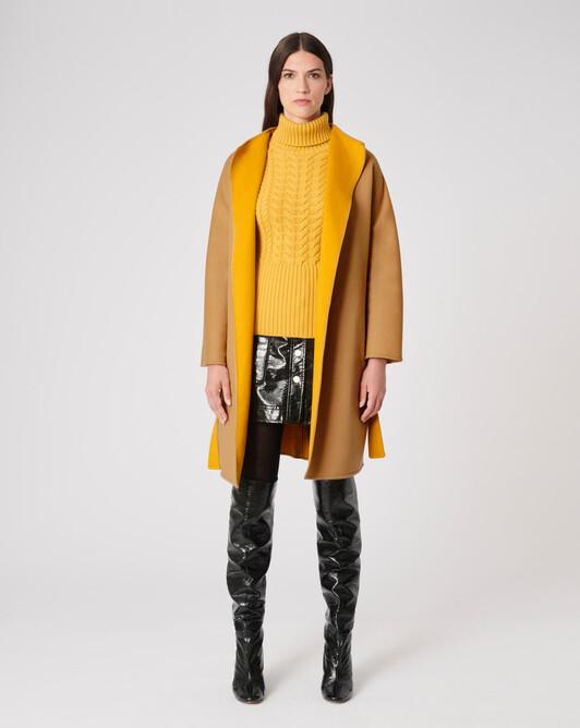 Manteau en double face - Camel / ocre