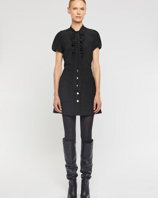 T-shirt en crêpe de chine