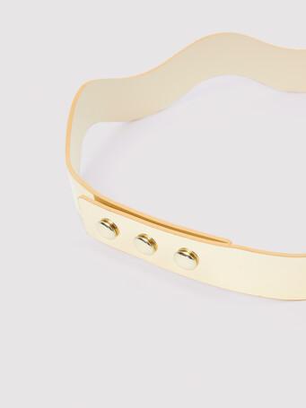 Specchio mirror belt - Platinum