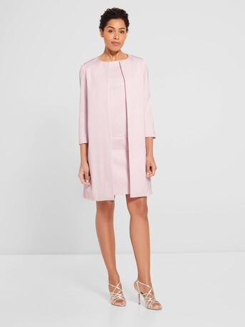 Manteau en ottoman stretch - Magnolia