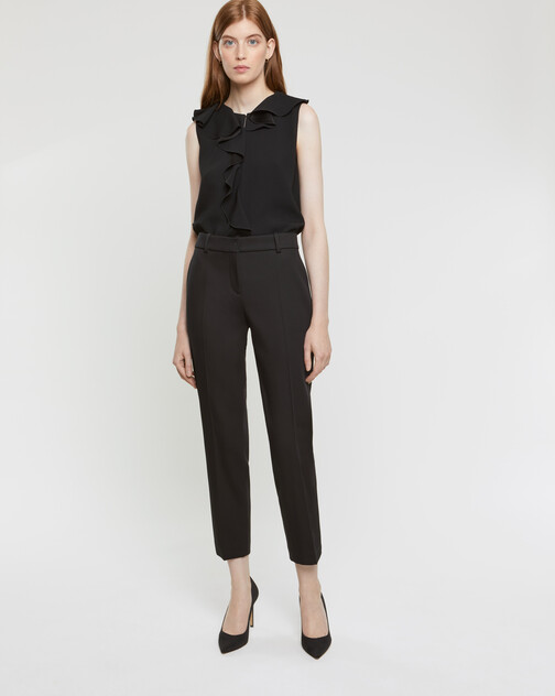 Pantalon en coton couture