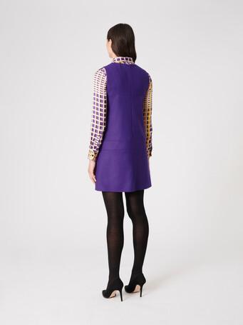 Wool dress - Amethyste