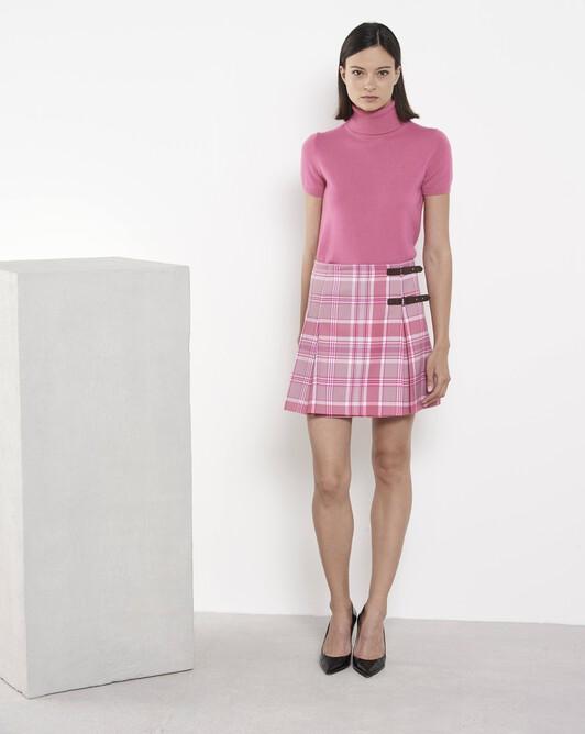 Tartan skirt - Pivoine