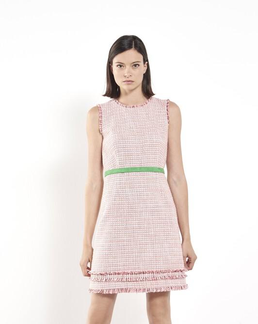 Woven tweed dress - Pivoine