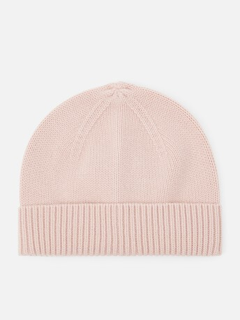 Cashmere wool beanie - Rose pale