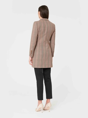 Prince of Wales checked jacquard jacket - multicolor