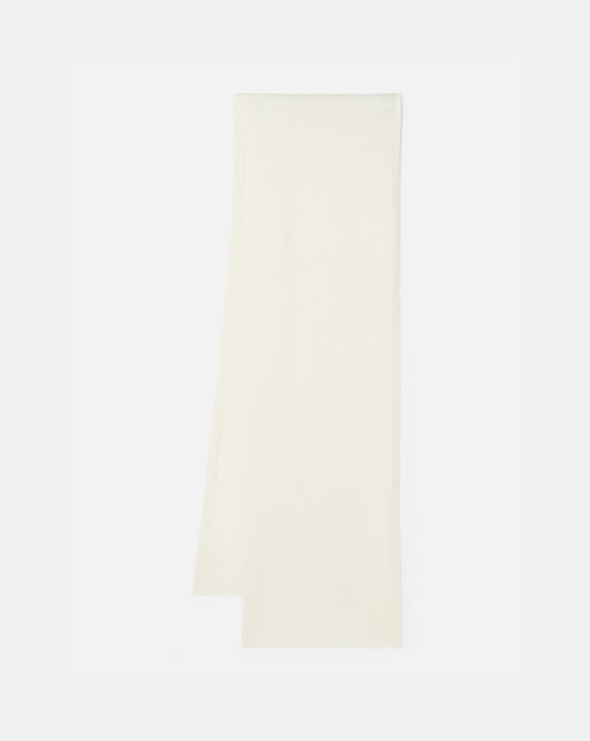 Cashmere wool scarf - Naturel