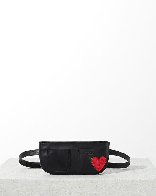 BAG - Noir / rouge