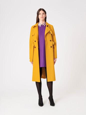 Wool coat - Ocre