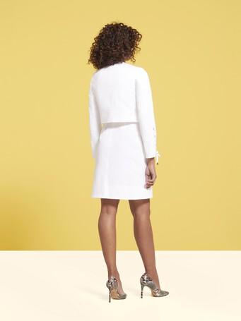 Veste en gabardine de coton - Blanc