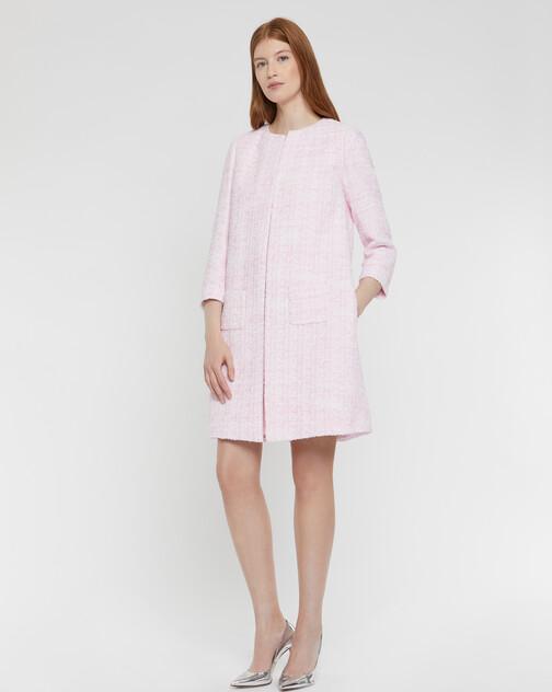 Manteau en tweed Ruban